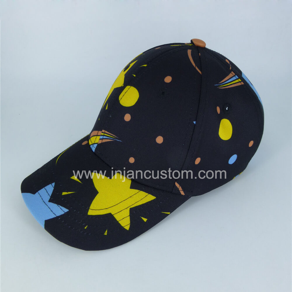 new arrival wholesale hot sale Personalised Kids Hats with Allover Printing 6 Panels Style ...